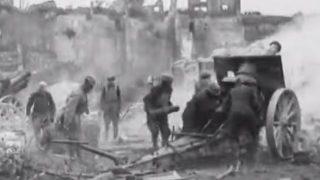 U.S. Army artillerymen in World War I.